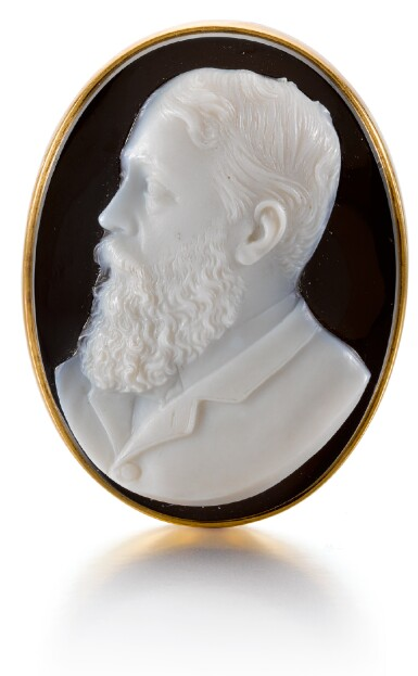 PROBABLY FRENCH, SECOND HALF 19TH CENTURY | CAMEO WITH PRINCE ALFRED, DUKE OF SAXE-COBURG AND GOTHA