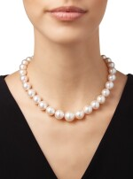 CULTURED PEARL AND DIAMOND NECKLACE, TIFFANY & CO.