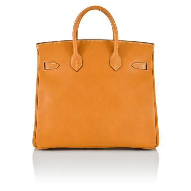 View 2. Thumbnail of Lot 59. Gold HAC Birkin 32cm in Ardennes Leather with Gold Hardware, 2004.