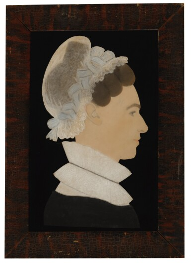 View 2. Thumbnail of Lot 1437. RUTH HENSHAW MILES BASCOM | PROFILE OF A WOMAN.