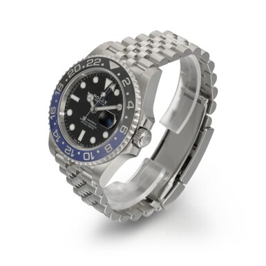 """View 2. Thumbnail of Lot 357. ROLEX   GMT-MASTER """"BATGIRL"""", REF 126710BLNR, STAINLESS STEEL DUAL-TIME WRISTWATCH WITH DATE AND BRACELET, CIRCA 2019."""