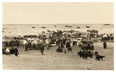 View 4. Thumbnail of Lot 254. Saudi Arabia | 15 photographs of the oil industry, c.1950.