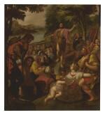 CIRCLE OF ADAM VAN NOORT | CHRIST'S SERMON ON THE MOUNT
