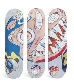 村上隆 MURAKAMI TAKASHI | COMPLEXCON 飛翔DOB滑板組(三件一組) COMPLEXCON FLYING DOB DECK SET (SET OF THREE)