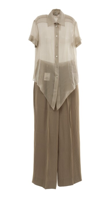 Blouse and trousers , Hermès