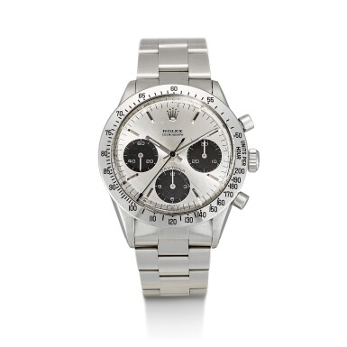 ROLEX | COSMOGRAPH DAYTONA, REFERENCE 6262, A STAINLESS STEEL CHRONOGRAPH WRISTWATCH WITH BRACELET, CIRCA 1971