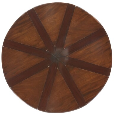 View 9. Thumbnail of Lot 24. AN EARLY VICTORIAN MAHOGANY EXPANDING DINING TABLE BY JOHNSTONE & JEANES, MID-19TH CENTURY.