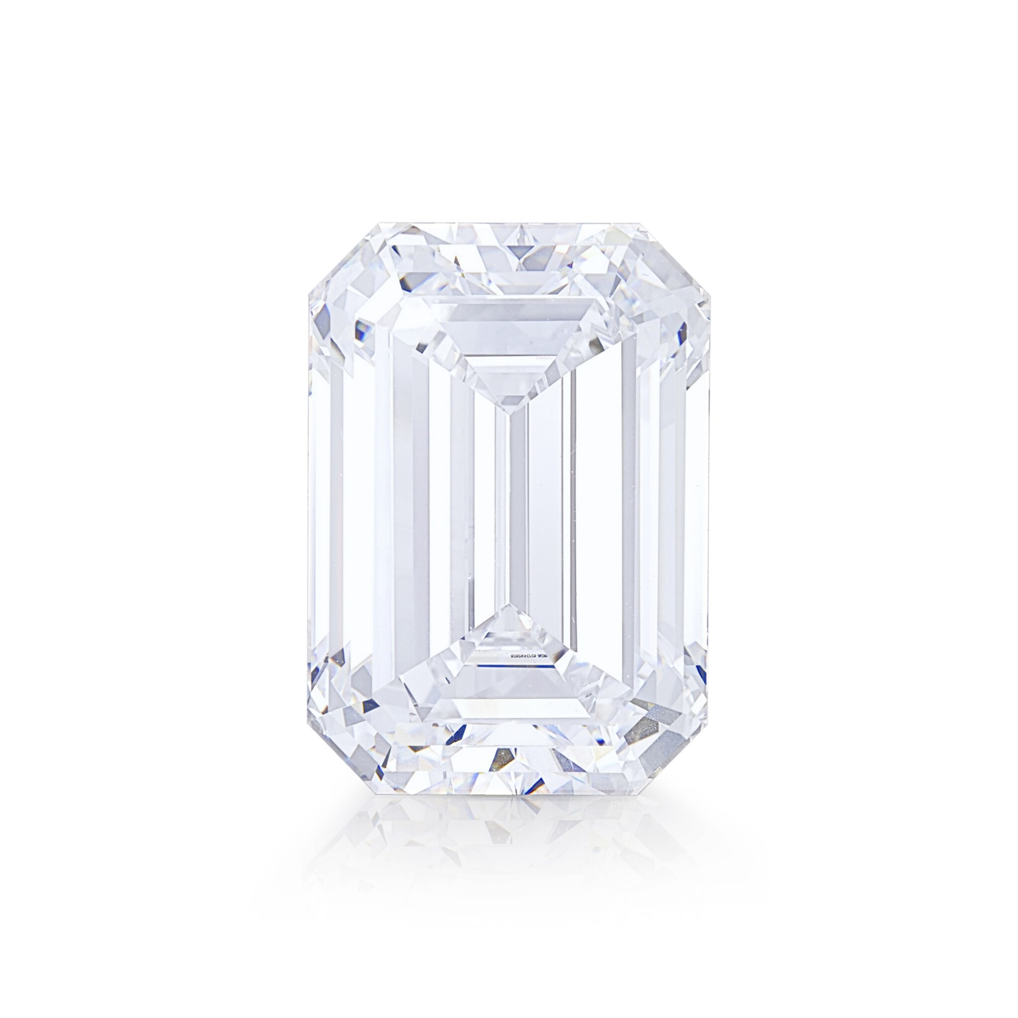 View full screen - View 1 of Lot 8002. Unmounted Diamond   10.88克拉 方形 D色 完美無瑕 鑽石.