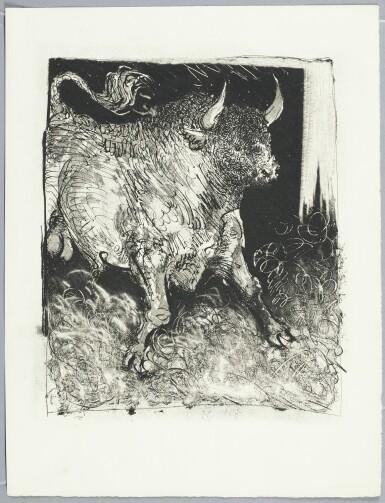 PABLO PICASSO  1881 - 1973  HISTOIRE NATURELLE (EAUX-FORTES ORIGINALES POUR DES TEXTES DE BUFFON) (CRAMER BOOKS 37; B. 328-358)