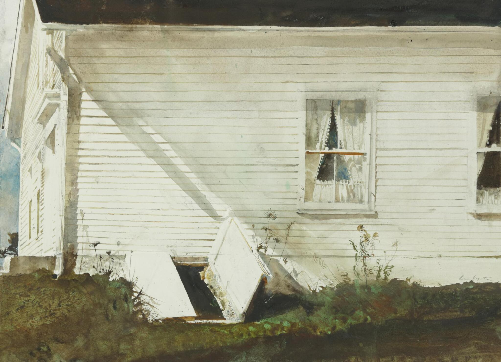 View full screen - View 1 of Lot 5. ANDREW WYETH | ELSIE'S HOUSE.