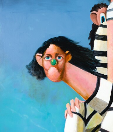 View 3. Thumbnail of Lot 30. GEORGE CONDO |  ANTIPODAL REUNION.