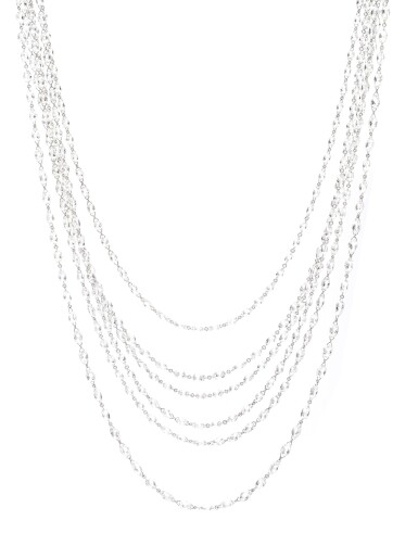 View 1. Thumbnail of Lot 716. Chopard | Three briolette diamond sautoirs | 蕭邦 | 鑽石長項鏈.