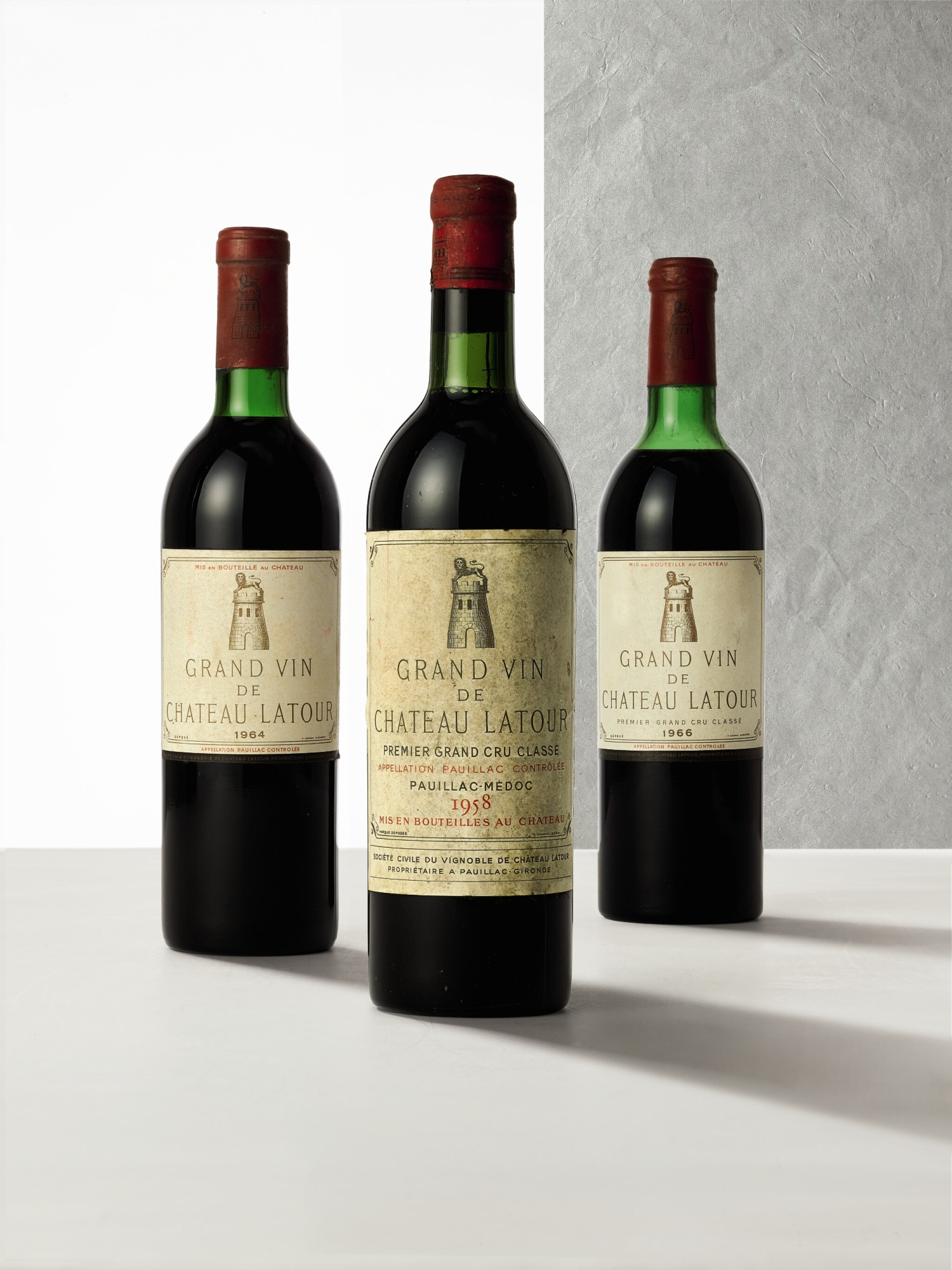 View full screen - View 1 of Lot 3404. Château Latour 1964  (8 BT).