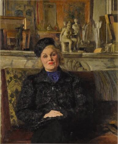 Portrait d'Elvira Popesco