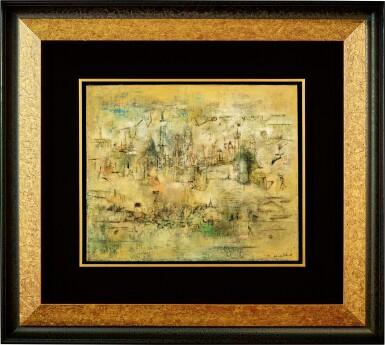 View 5. Thumbnail of Lot 1018. Zao Wou-Ki 趙無極 | Château - 07.52-05.06.55 莊園 07.52-05.06.55.