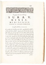 Marracci | Alcoranis textus universalis, Padua, 1698, 2 volumes