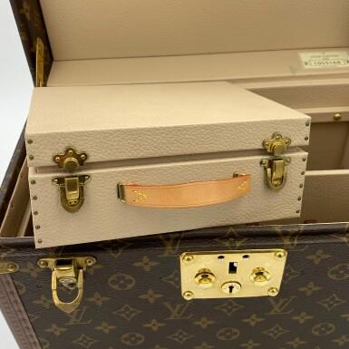 View 11. Thumbnail of Lot 734. LOUIS VUITTON | BOX PHARMACIE TRAVEL CASE IN MONOGRAM CANVAS.