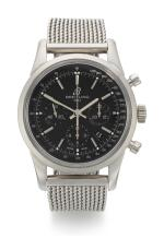 BREITLING | TRANSOCEAN CHRONOGRAPH, REFERENCE AB015212,  STAINLESS STEEL CHRONOGRAPH WRISTWATCH WITH DATE AND BRACELET, CIRCA 2012