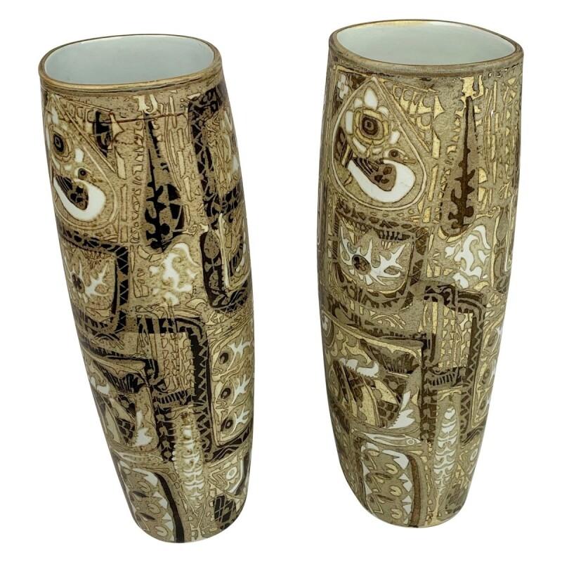 Dancing Fish Vases