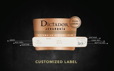 View 3. Thumbnail of Lot 131. A sherry cask of Dictador Colombian 40 Year Old Rum 62.7 abv 1980 .