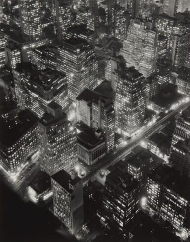 View 1. Thumbnail of Lot 63. New York at Night.