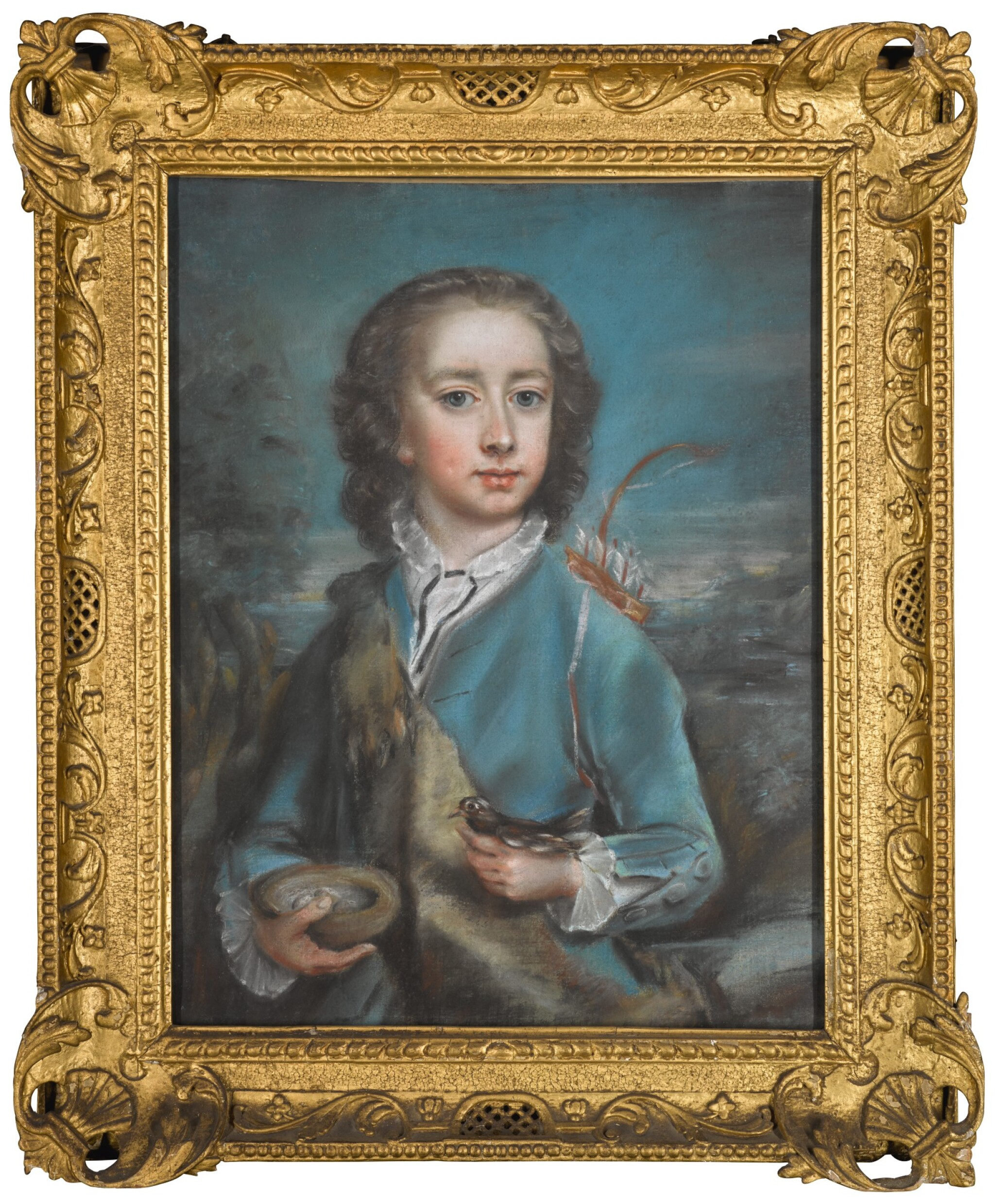 View full screen - View 1 of Lot 18. ATTRIBUTED TO ARTHUR POND | PORTRAIT OF CLOTWORTHY, LORD LOUGHNEAGH, LATER, 2ND EARL OF MASSEREENE (1743-1805).