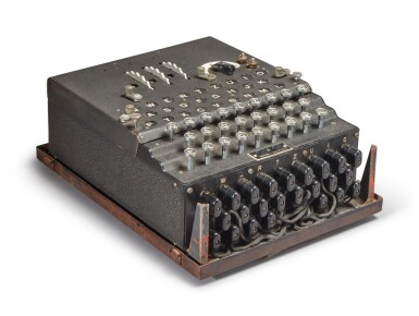 View 6. Thumbnail of Lot 55. A Fully Operational Enigma I in Original Condition.