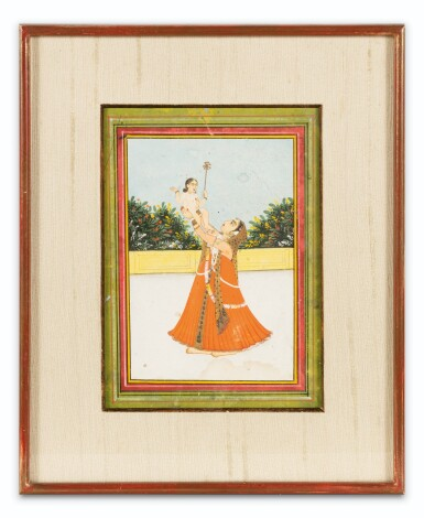 View 6. Thumbnail of Lot 39. RAJASTHAN AND NORTHERN INDIA, LATE 18TH CENTURY - EARLY 19TH CENTURY | SIX INDIAN MINIATURES .