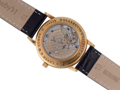 A. LANGE & SÖHNE | 1815, REF 206021 YELLOW GOLD WRISTWATCH CIRCA 1997