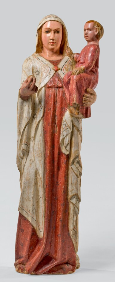 ATTRIBUTED TO THE MASTER OF THE BEFFI TRIPTYCH (ACTIVE LATE 14TH/ EARLY 15TH CENTURY), ITALIAN, ABRUZZI, LATE 14TH/ EARLY 15TH CENTURY | VIRGIN AND CHILD