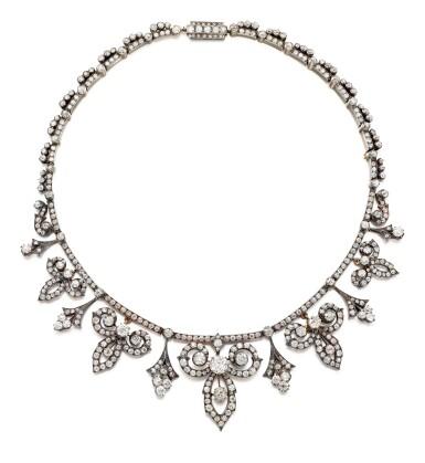 View 2. Thumbnail of Lot 9011. Diamond Tiara, Circa 1880   鑽石冠冕, 約1880年.