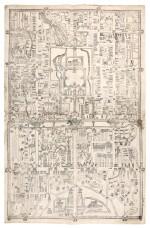 Beijing   untitled map, ?mid nineteenth century