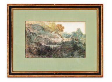 View 3. Thumbnail of Lot 98. Paysage (Dendrite).