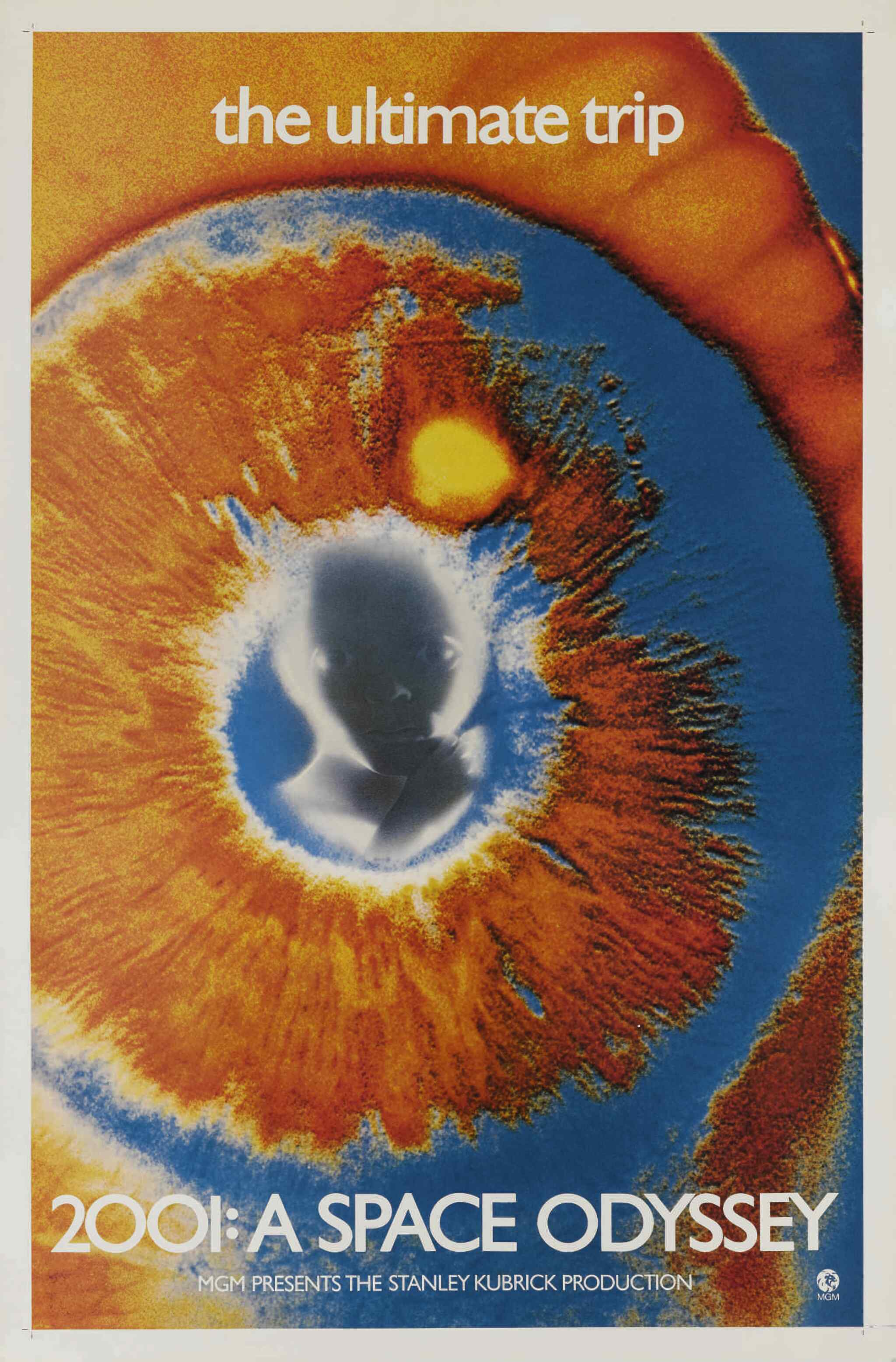 View full screen - View 1 of Lot 4. 2001: A Space Odyssey (1968) poster, US .