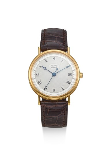 BREGUET | CLASSIQUE, REFERENCE 5910, A YELLOW GOLD WRISTWATCH WITH DATE, CIRCA 2000