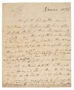 Mary Anning | Autograph letter signed, to William Buckland, 24 November 1834