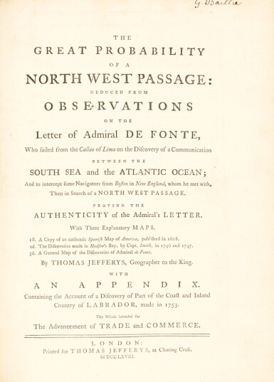 Müller and Drage | two works on the north Pacific, 1761 & 1768