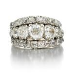 Diamond ring, circa 1800