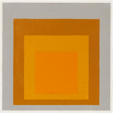 JOSEF ALBERS | STUDY TO HOMAGE TO THE SQUARE: WELCOME