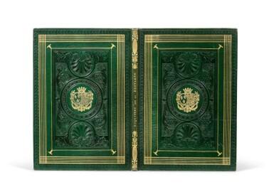 View 1. Thumbnail of Lot 109. [Esquisses sur la Bretagne]. Album de 12 lithographies. Armes de la duchesse de Berry..