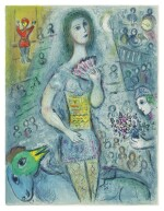 MARC CHAGALL   THE CIRCUS: ONE PLATE (M. 521; SEE C. BKS. 68)