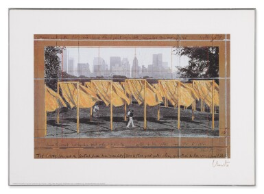 View 11. Thumbnail of Lot 34. The Gates, Project for Central Park, New York City: 5 Prints.
