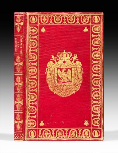 View 1. Thumbnail of Lot 59. Nouvelles recherches... Paris, 1812. Exemplaire de présent aux armes de Napoléon Ier.