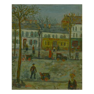 View 1. Thumbnail of Lot 73. MOSHE ELAZAR CASTEL | RUE DE PARIS GARAGE.