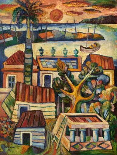 View 1. Thumbnail of Lot 33. MARIO CARREÑO | PAISAJE CUBANO (CUBAN LANDSCAPE) .