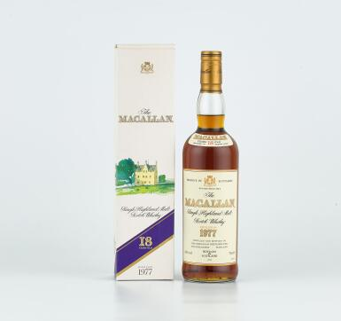 The Macallan 18 Year Old 43.0 abv 1977 (1 BT70)