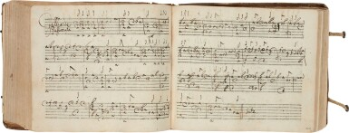 View 6. Thumbnail of Lot 64. Lute. Highly important early seventeenth-century manuscript of Italian and French lute music in French tablature, c.1620.