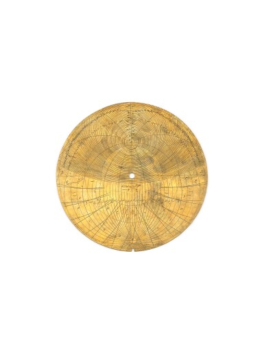 A HIGHLY IMPORTANT ROYAL MUGHAL PLANISPHERIC ASTROLABE, SIGNED BY DIYA AL-DIN IBN MUHAMMAD QA'IM, INDIA, LAHORE, DATED 1068 AH/1657 AD