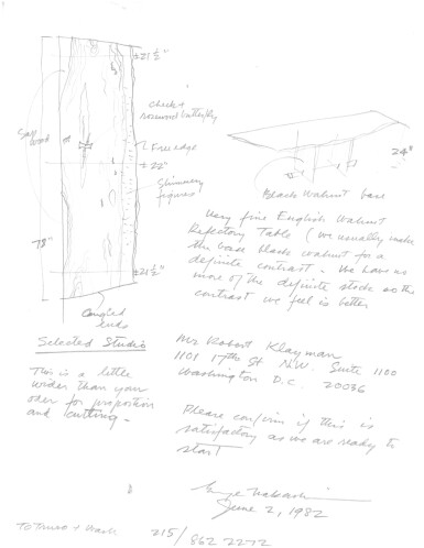 View 3. Thumbnail of Lot 115. Refectory Table.