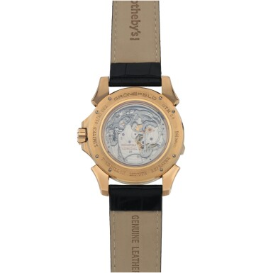 View 4. Thumbnail of Lot 25. Ref. GTM 06 Pink gold minute repeating tourbillon wristwatch Circa 2008 | Grönefeld GTM 06型號粉紅金三問陀飛輪腕錶,年份約2008.